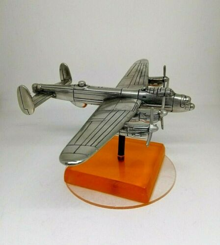 Vintage Cast Iron Art Deco Retro Airplane Desk Model. Rare!!!