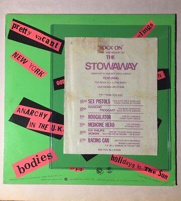 1976 Sex Pistols Concert Hand Bill Advert Poster Ticket September 22