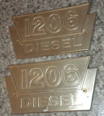 Ih International Harvester Farmall 1206 Diesel Emblem