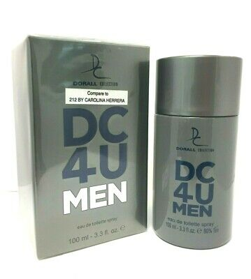 Impression of Carolina Herrera 212 Men, DC 4U MEN by Dorall  3.3 oz  EDT NIB