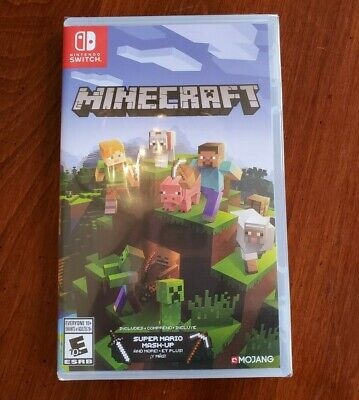 Minecraft for Nintendo Switch [New In Wrapping]