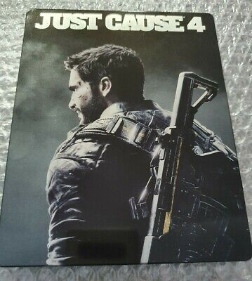 Just Cause 4 - Limited Edition - Preorder Steelbook - G2 - PS4 - NO GAME for sale  Shipping to Nigeria