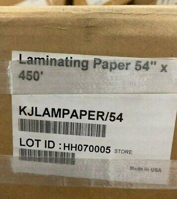 54 X 450 Laminating Paper