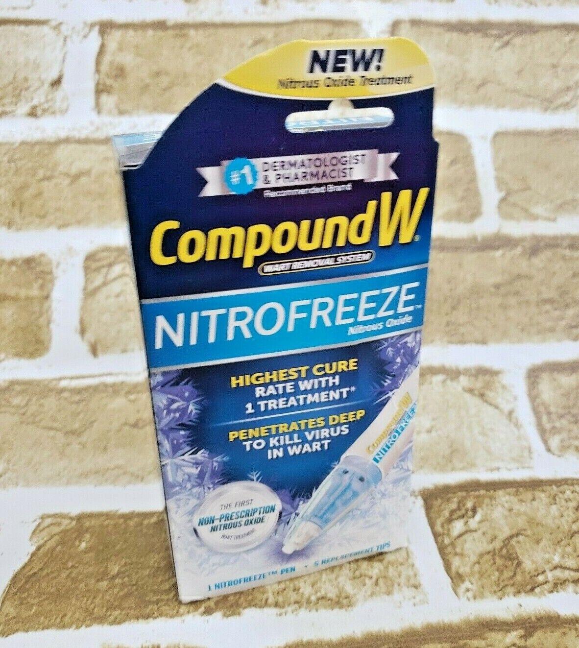 Compound W Wart Removal System | NITROFREEZE | 1 Nitrofreeze