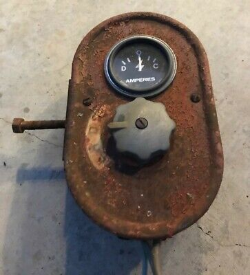 Ih Farmall M H Super M Super H Tractors Amp Gauge And Light Switch Box