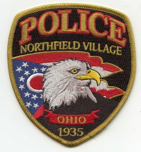 NORTHFIELD VILLAGE OHIO OH POLICE PATCH