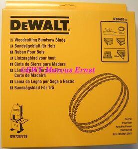 Lame de scie à ruban pour DeWALT DT8483 DW738 DW739 DT
