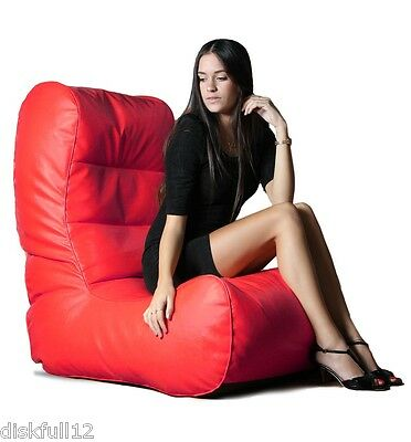 SALE NIB Bean Bag Lounger Sac Cushion Polystyrene Beads Fill Gift Chair Luxury