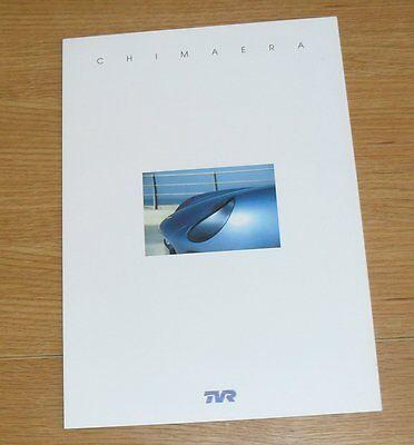 TVR Chimaera 450 Brochure 2001-2002