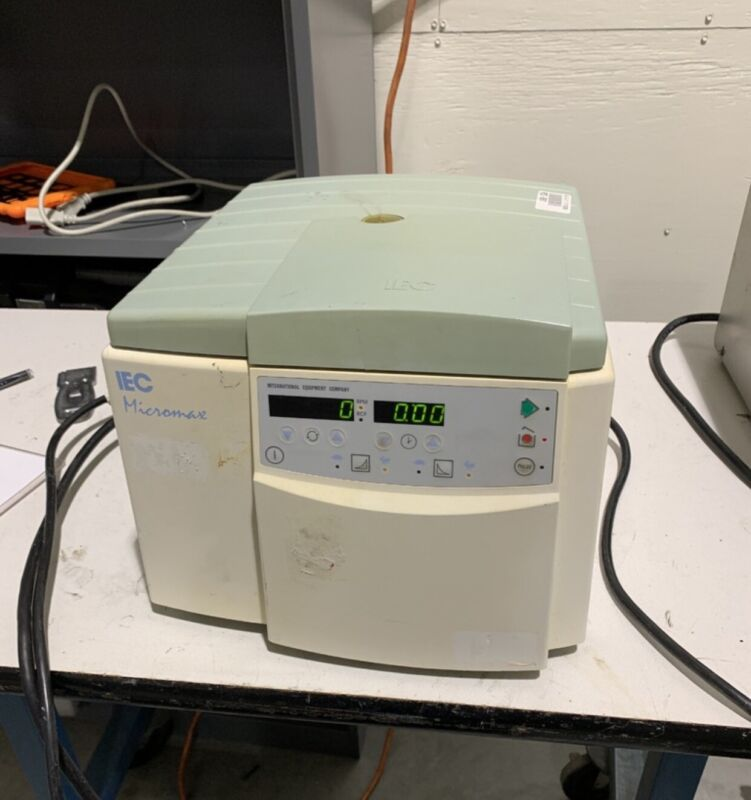 IEC Micromax 120 Centrifuge With Rotor 815
