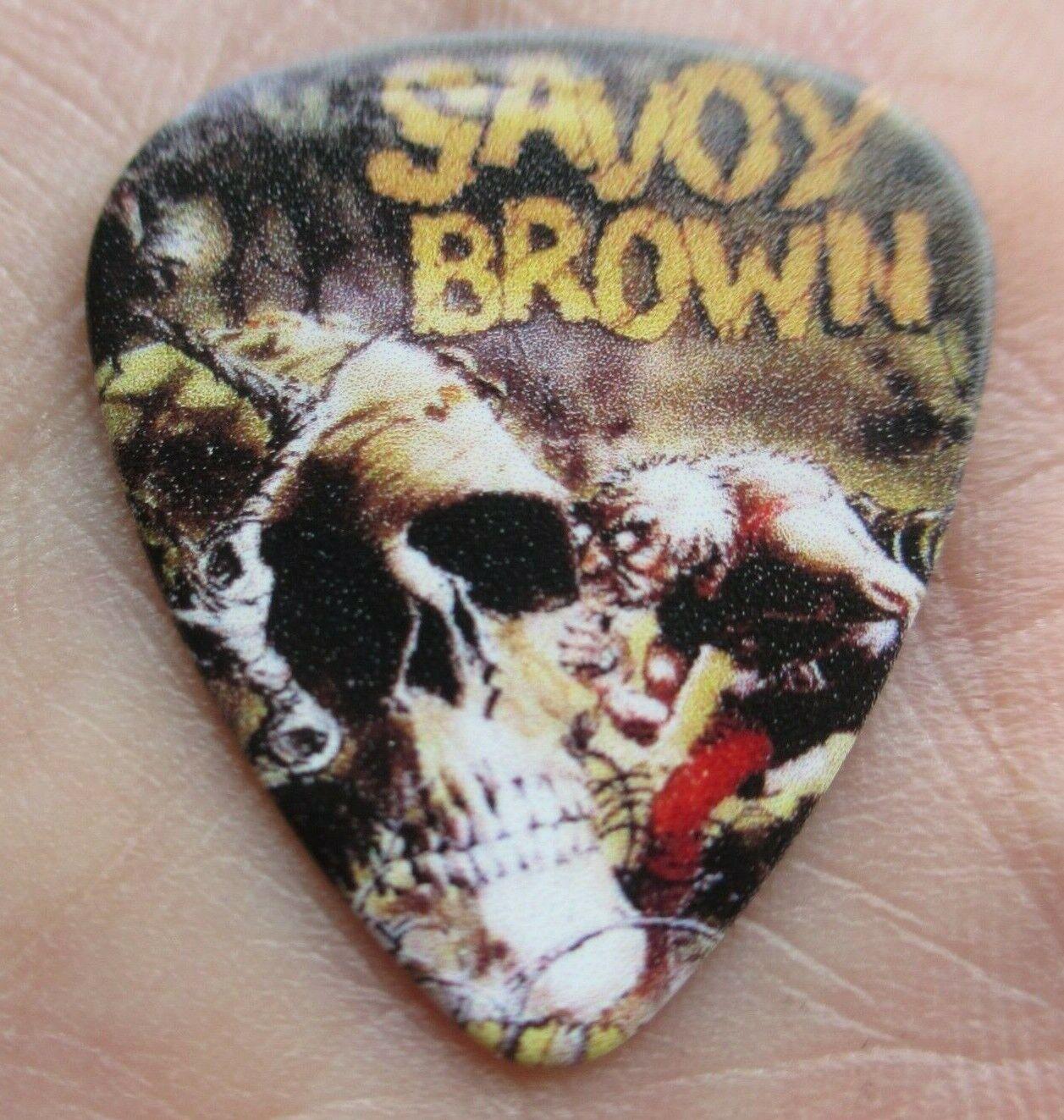SAVOY BROWN Collectors Guitar Pick Lookin In Obscure Album Foghat Bong Rock - $3.99
