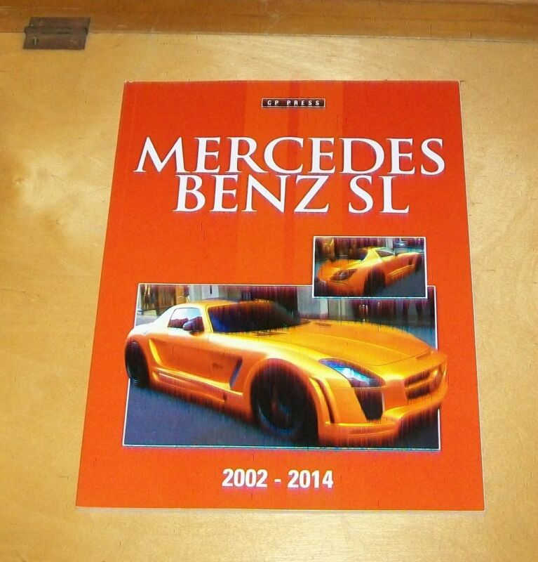 MERCEDES+BENZ+SL+2002-2014+BOOK+ABOUT+THE+CARS.+COLIN+HOWARD.+2014+CP+PRESS