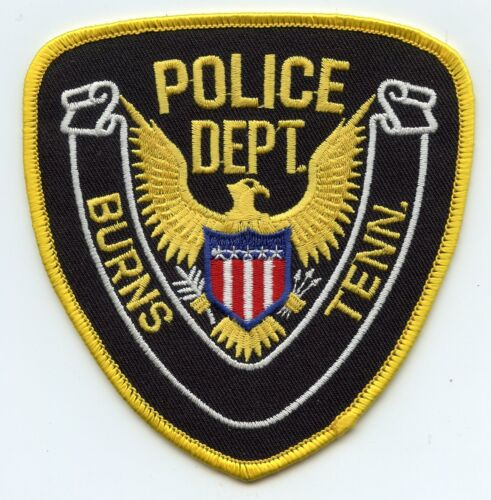 old vintage BURNS TENNESSEE TN POLICE PATCH