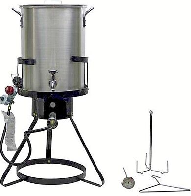 Commercial Grade Turkey Deep Fryer Large Pot Steamer Outdoor Gas Propane Cooker