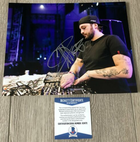 STEVE ANGELLO SIGNED SWEDISH HOUSE MAFIA 8x10 PHOTO A w/PROOF & BECKETT BAS COA