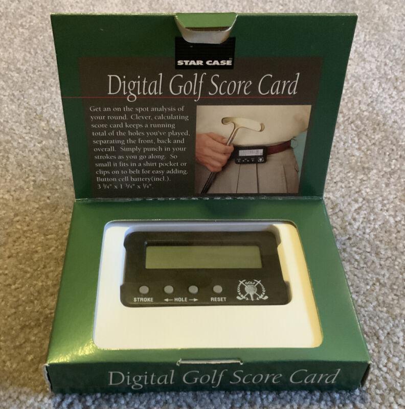 NEW STAR CASE Digital Golf Score Card