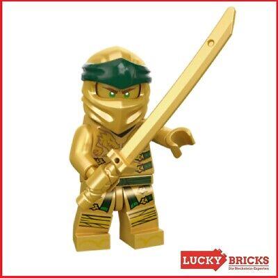 LEGO® NINJAGO™ - Lloyd Goldener Ninja aus 70666 + NEU & unbespielt + njo499 +