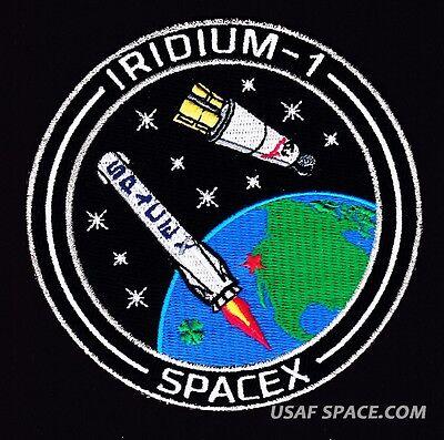 Iridium 1   Spacex Original Falcon 9 Launch   Vafb Satellite Mission Patch