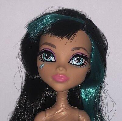 Monster High Garden Ghouls Cleo de Nile Nude Mummy Fashion Doll NEW to OOAK](De Nile)