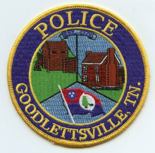 GOODLETTSVILLE TENNESSEE TN POLICE PATCH