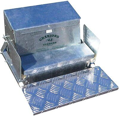 Grandpas Feeders Automatic Chicken Feeder Poultry Standard 20 Lb Feed Capacity