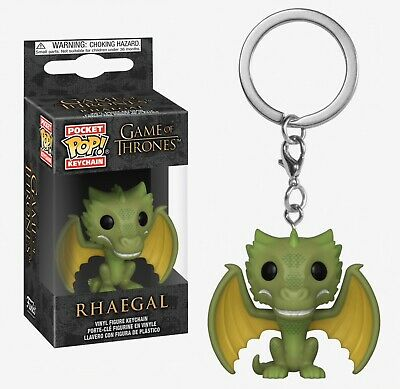 Funko Pocket Pop Keychain Game of Thrones™: Rhaegal Vinyl Figure #37665