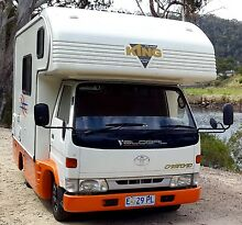 LOW kms Toyota Dyna Global Free Camper Maroochydore Maroochydore Area Preview