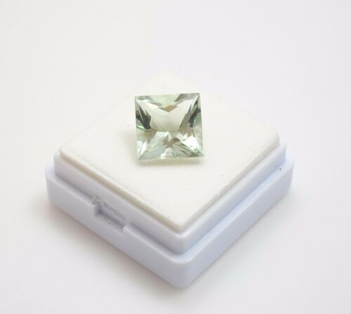 Stunning! Prasiolite 3.30ct+  Princess Cut - 9.5mm - Prasiolite Loose Gemstone