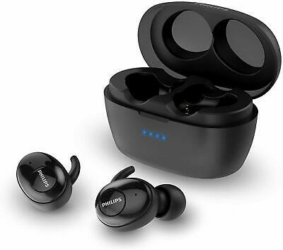 Philips Upbeat SHB2505 Truly Wireless Earbuds, with Portable Charging Case
