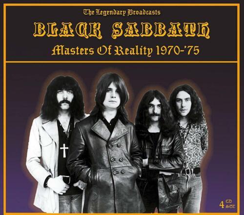 BLACK SABBATH MASTERS OF REALITY 1970-