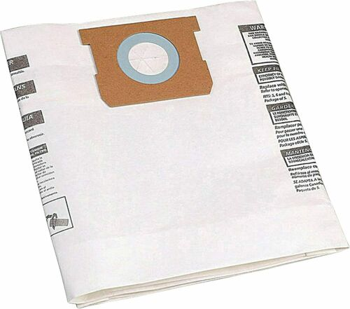 Shop-Vac 90661 3 Filter Bags for 5-8 Gallon Units, Type E