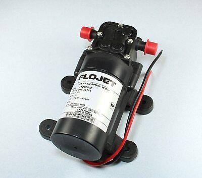 Flojet Demand Spray Pump 24vdc 2amps 1gpm 3.8lpm Model Lf222002