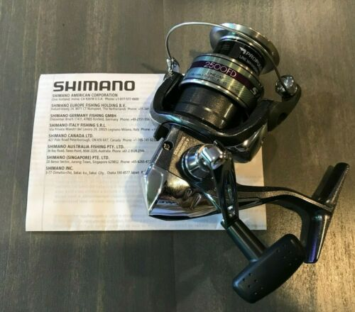 Shimano Sienna 2500 FD Spinning Fishing Reel Classic Style - New