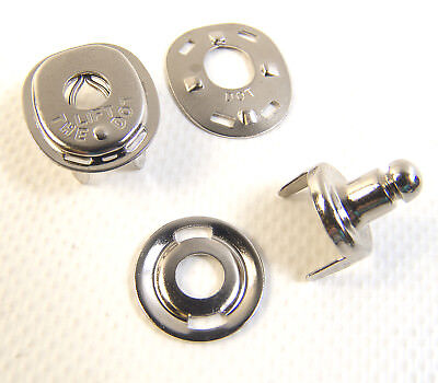 Lift The Dot Fasteners, Fabric Stud, Socket, & Backing Plates, 10 Pc.