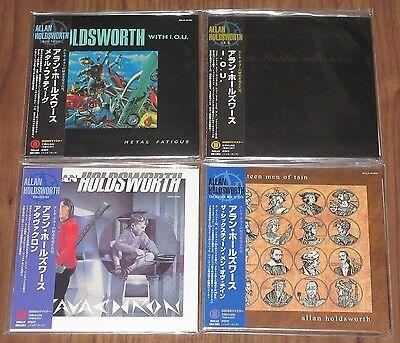 ALLAN HOLDSWORTH Japan PROMO mini LP CD x 4  set CARD SLEEVE unopened GENUINE