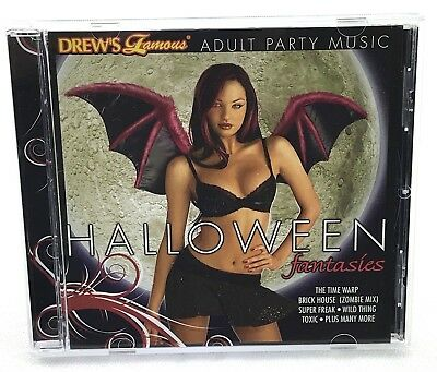 Drews Famous Halloween Fantasies CD - Adult Party Music - 2008 - Halloween Music Cd
