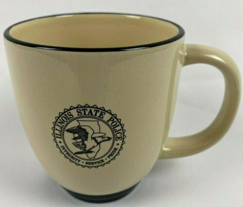 Illinois State Police Coffee Cup Mug Integrity Service Pride Eagle Logo - M Ware