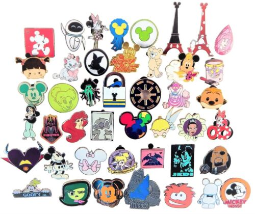 Купить Disney - Disney Pin Trading 20 Assorted Pin Lot - Brand NEW Pins - No Doubles - Tradable