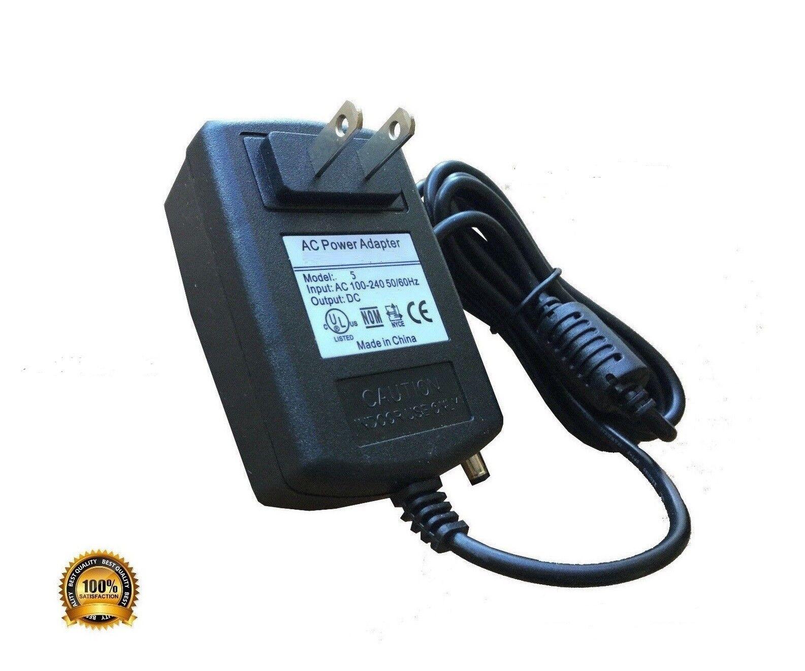 AC Adapter Power Supply for Brookstone Cordless 3D Shiatsu Massager