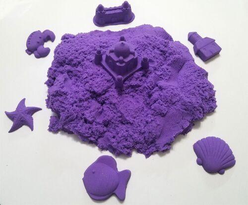 Sparkling Purple 2 LB Refill Kinetic Magic moon Play Space Sand DIY Non-Toxic