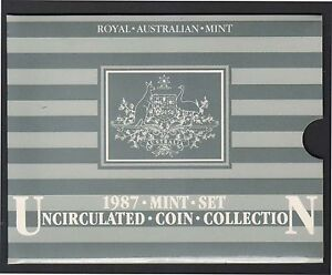1987 Royal Australian Mint Uncirculated Coin Set