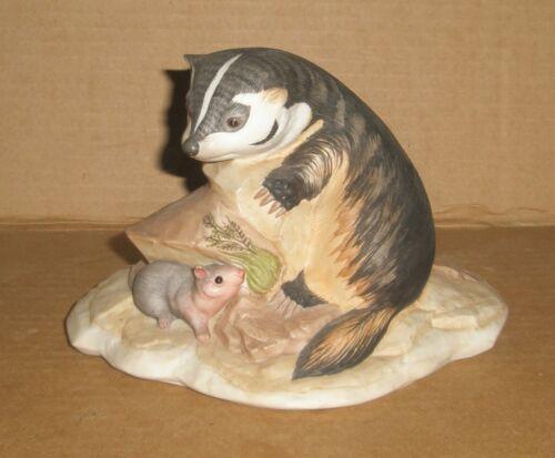 Kazmar Badger Cub with Mouse