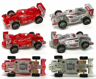 2006 Jwl Ho 1 64Ish American Release F 1 Indy Matched Pair Slot Race Cars Rd Sil