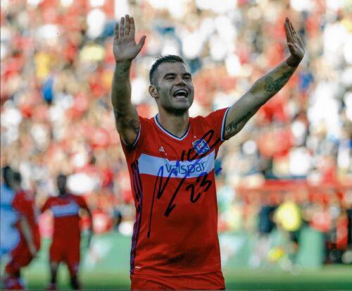 Nemanja Nikolic Chicago Fire Signed 8x10 COA Autograph MLS Soccer