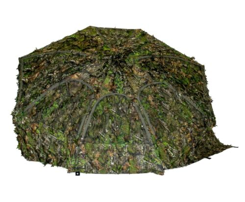 """Ground Blind Umbrella Big Tom Mossy Oak 3D  OBSESSION  NWTF 72"""" Wide Up To 60"""""""