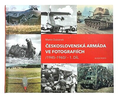 Czechoslovak Czech Armed Forces 1945-1960 Photo Album Book Cold War Soviet Army