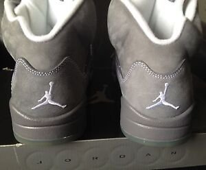 Jordan 5 (V) Retro Wolf Grey (2011) DS Size 9.5
