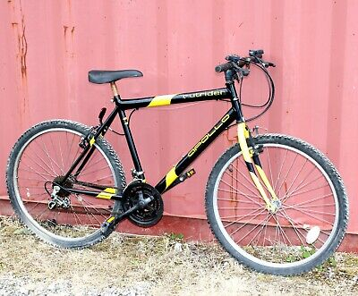"APOLLO Outrider Kids/Adult 26"" Wheel Mountain Bike Shimano 15 Speed Gears Black"