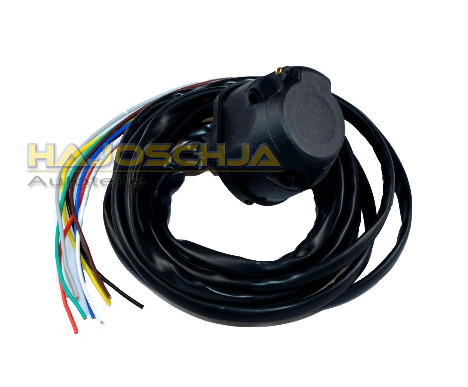 universal elektrosatz 13 polig kabelsatz ahk anh ngerkupplung anh nger e satz 2m picclick it. Black Bedroom Furniture Sets. Home Design Ideas