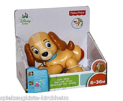 Mattel Fisher Price X6174 Disney Sammelcharaktere Lady Bewegliche Beine Arme